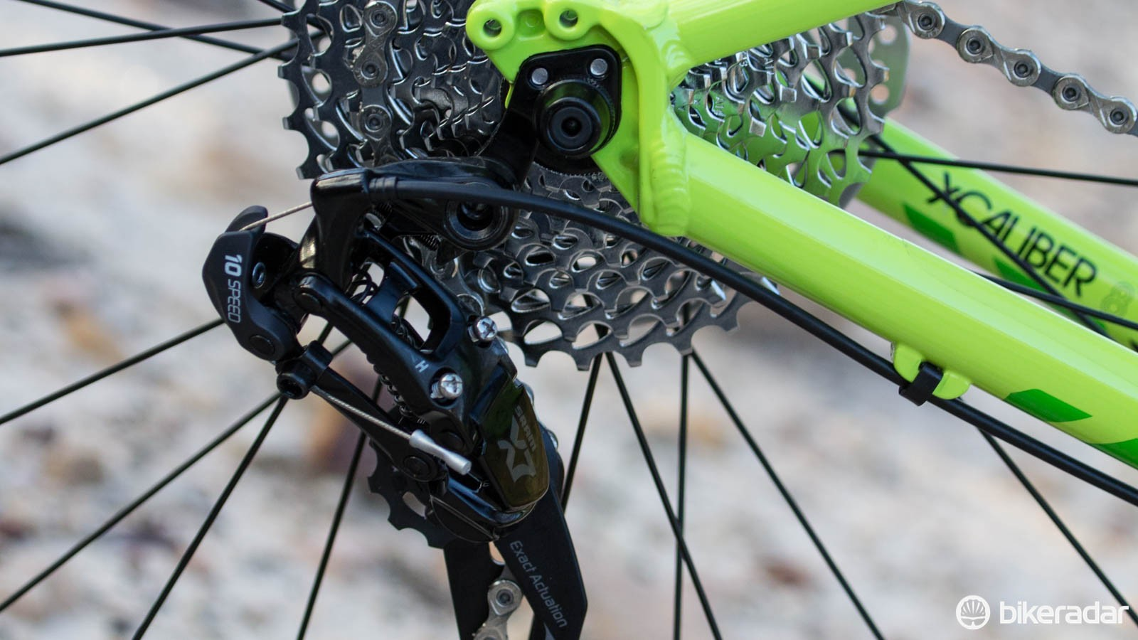 No doubt the most common beginner mistake — turning in those loose derailleur screws