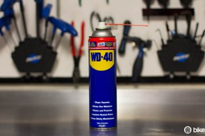 Ahhh... WD-40, providing bicycle mechanics with something to complain about since 1958