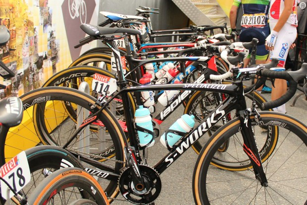 While endurance bikes came out in abundance for stage 4's cobbles, there were also plenty of standard road race bikes and even aero bikes
