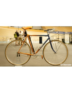 The Kumo Cycles 'Busyman' - a custom creation for Mick Peel of Busyman Bicycles
