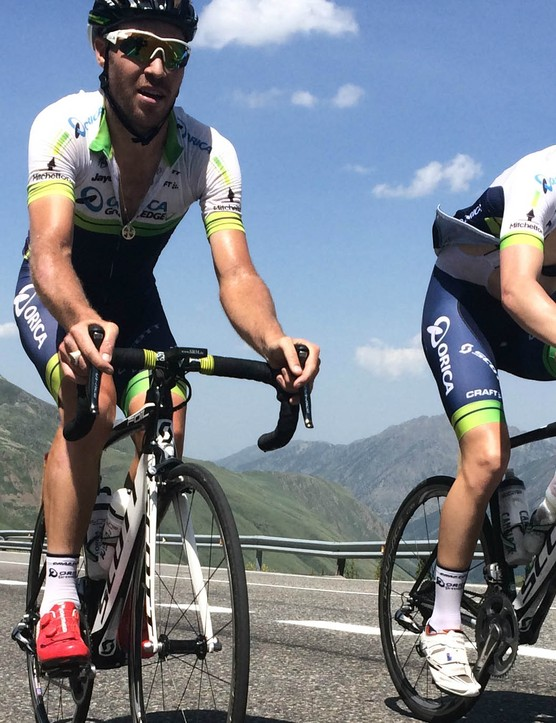 Mitch Docker and Cameron Meyer are two of DaybyDay's WorldTour athletes