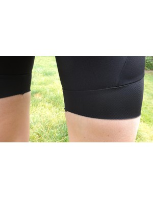 Wide leg bands eliminate the 'sausage leg' effect