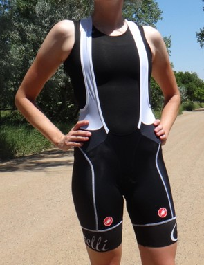 The Castelli Aero Race women's bib shorts are light, breathable and perfect for hot summer weather