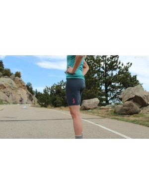 The women's Rapha Souplesse Bib Shorts were our tester's bibs of choice for long distance race the Dirty Kanza 200