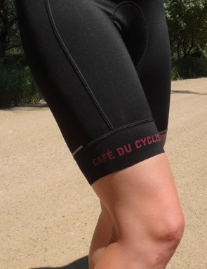 Incredibly soft materials and flattering leg bands were almost enough to overcome the uncomfortable Café du Cycliste chamois