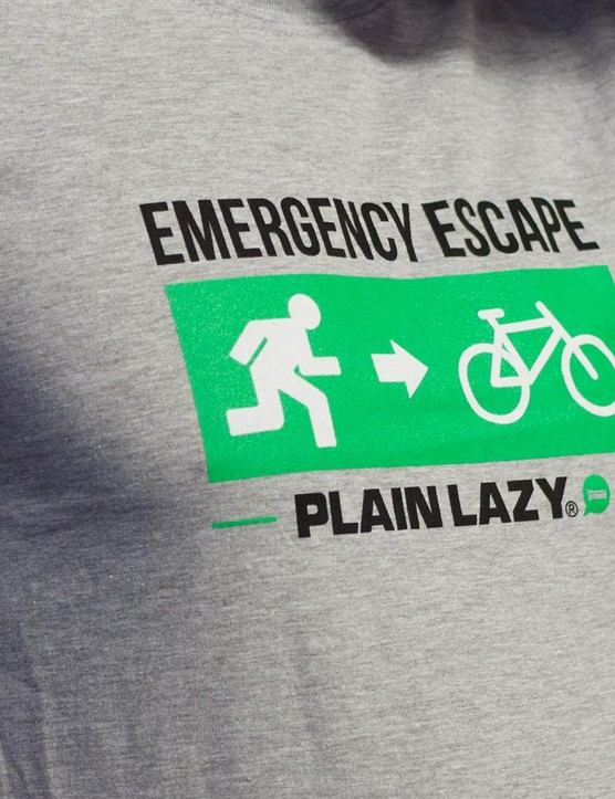 Plain Lazy tee-shirt