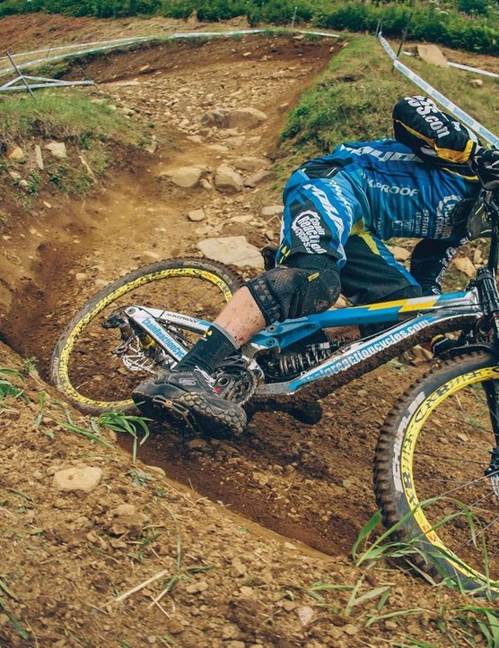 Some enduro and downhill riders prefer flat pedals.