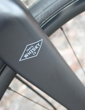 The frame set build comes with the Whisky No.7 Carbon QR fork