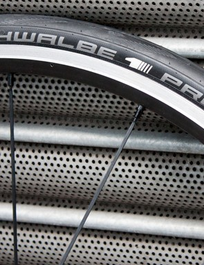 The new Schwalbe Pro One – the brand's top end rubber