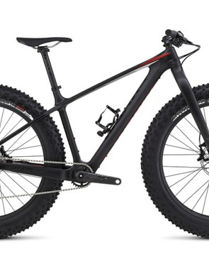 The Fatboy gets lighter for 2016, thanks to a full carbon S-Works framset