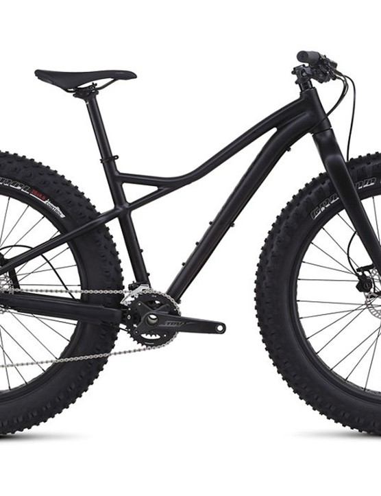 Specialized has added a second fat bike to its line. The Helga is a women's-specific model