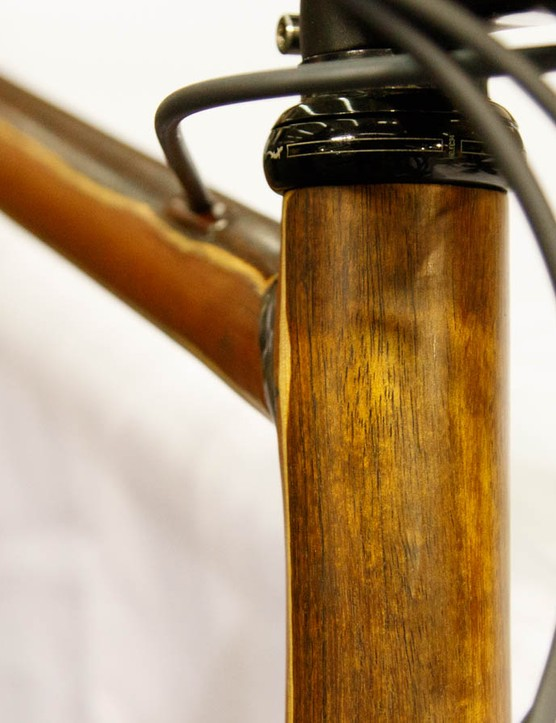 It looks like a wooden bike, but there's plenty more going on inside. Lyrebird Cycles isn't on the market yet, but the concept is interesting