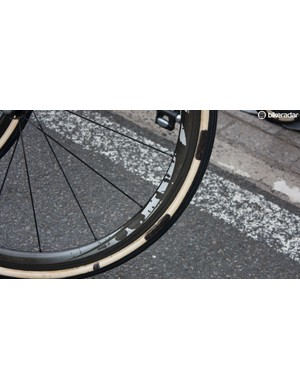 More stage 4 changes – award for excessive use of permanent marker on these FMB tubulars goes to the FDJ mechanics