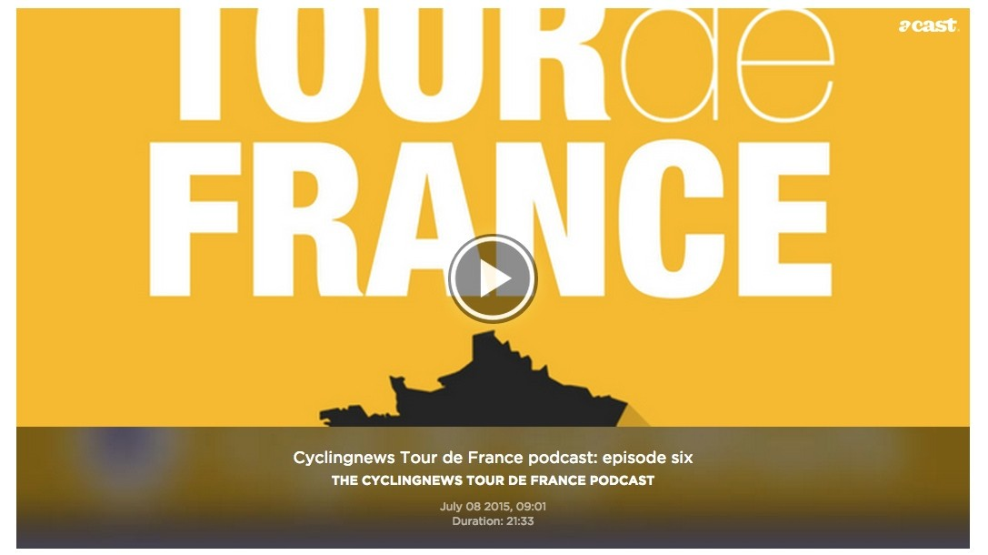 Cyclingnews and British Eurosport are collaborating on a Tour de France podcast