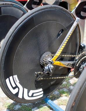Since when did Enve make a disc wheel?