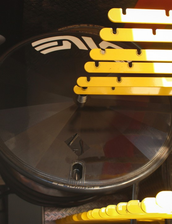 Although, we did snap this little beauty in the truck, which looks awfully similar to the Drag2Zero disc