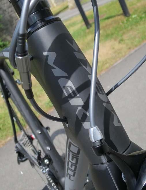 The Poggio 2.8 is aimed at fast sportive/gran fondo riders