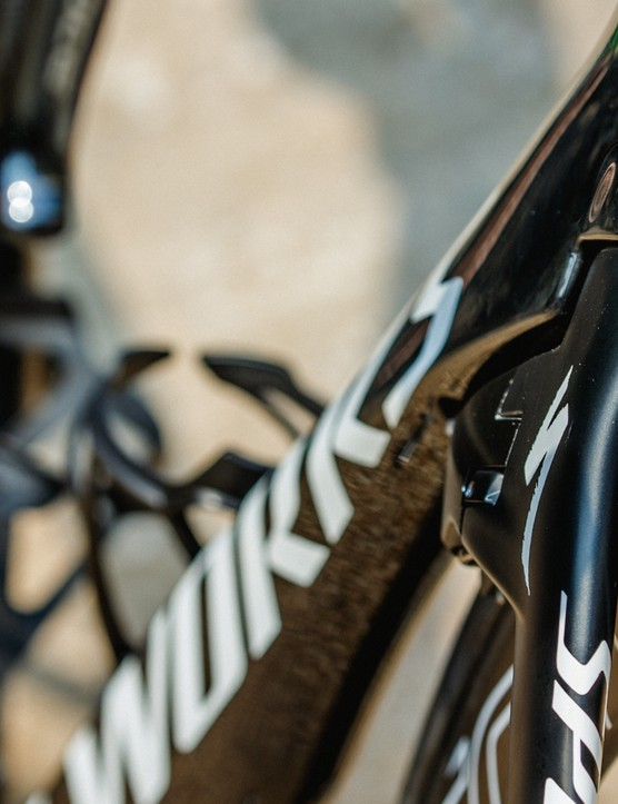 Mark Cavendish's Specialized S-Works Venge ViAS