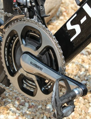 Shimano and SRM - a dependable combination