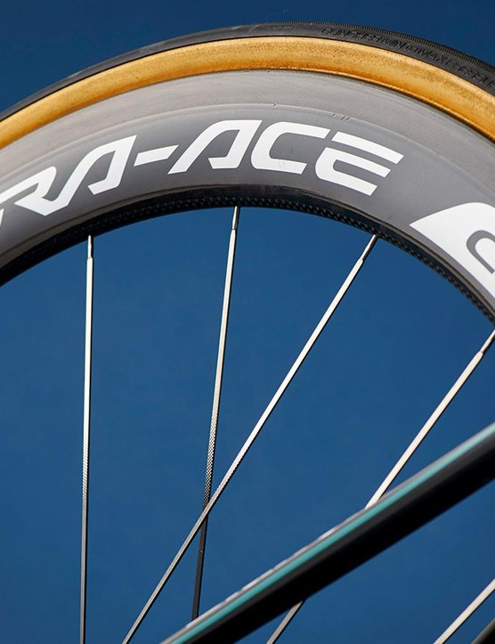 The new Zipp-challenging Dura-Ace rims are much better in crosswinds than earlier models