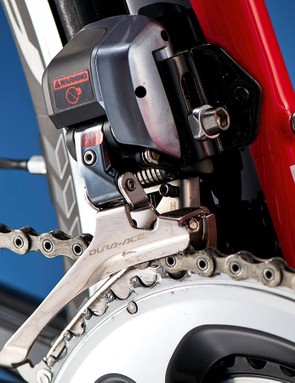 As you'd expect for this sort of money, there's a full raft of Shimano Dura-Ace Di2