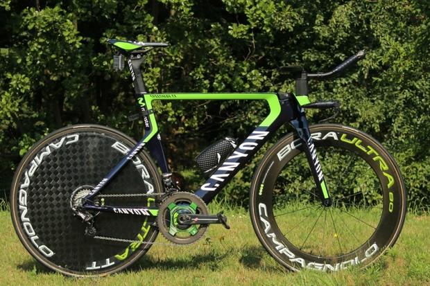 Alex Dowsett's Canyon Speedmax CF