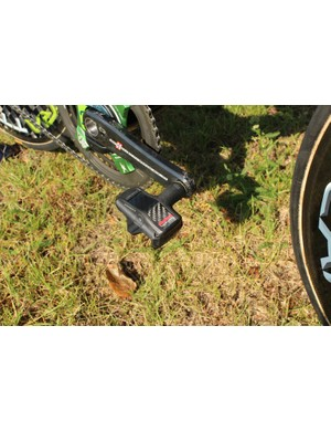 Look and Shimano are the two primary pedals choices of the Tour peloton