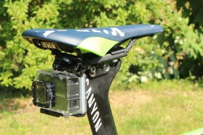 While GoPros are ubiquitous as this year's Tour, Toshiba is Movistar's sponsor