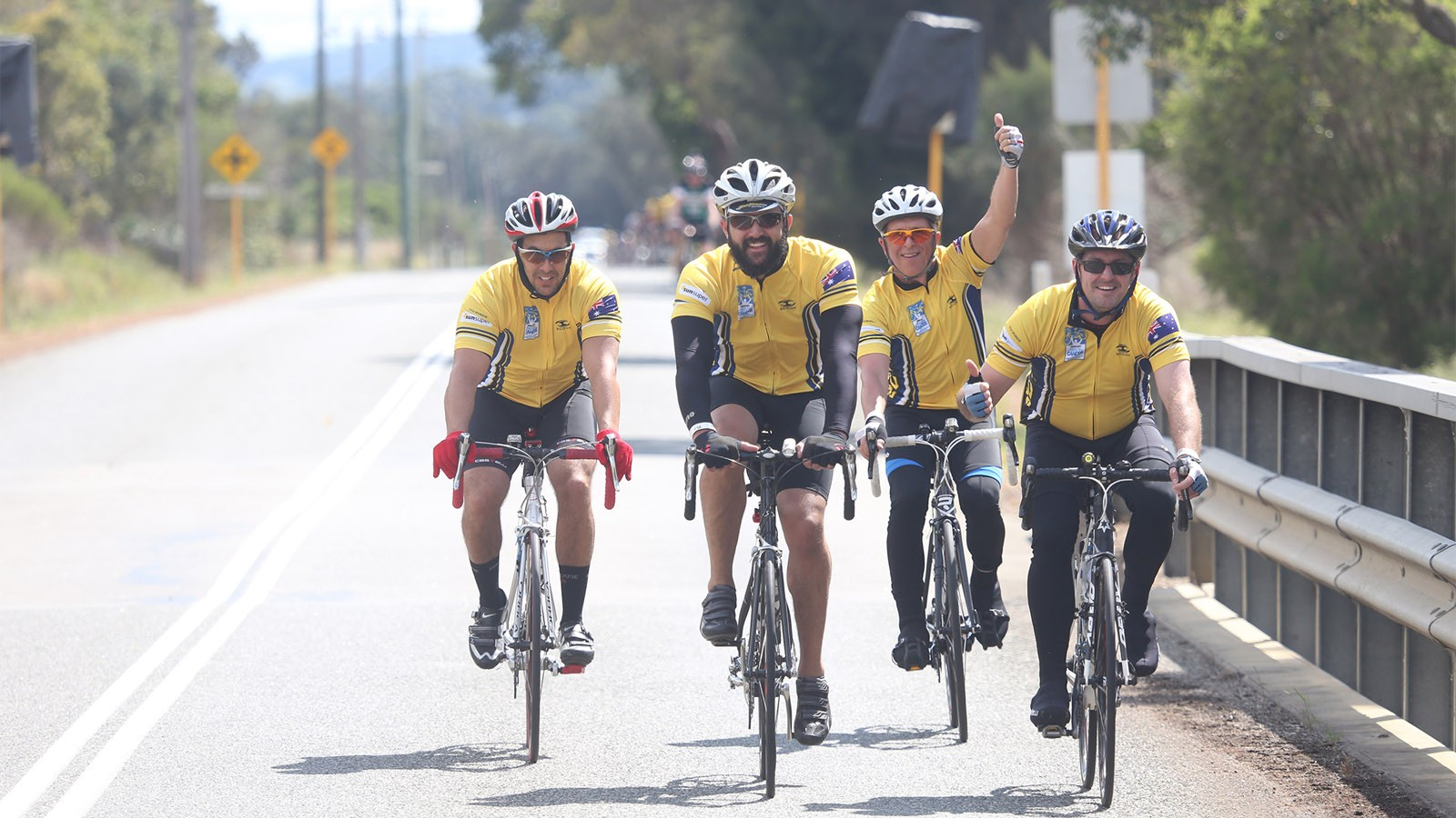 The 2015 Ride to Conquer Cancer starts in Sydney