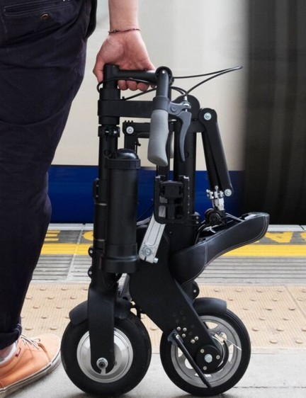 Apparently the A-Bike Electric can be fully folded/unfolded in around 10 seconds with a bit of practice