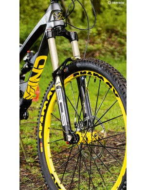 French suspension know how: the 160mm BOS Deville fork is seriously supportive
