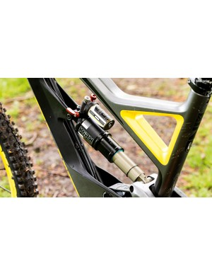 The BOS Kirk damper takes time to set up but gives incredible performance from 170mm of rear wheel travel