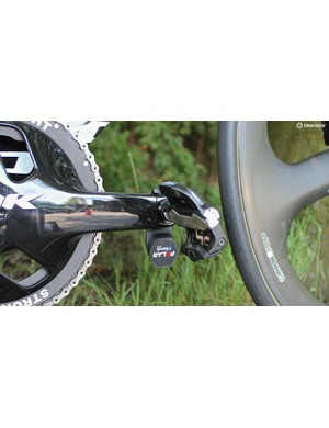 The Power Keo Power Bluetooth power meter pedals operate on Bluetooth Smart, not ANT+ like all other power meters