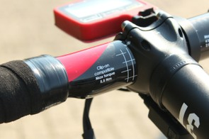 Not that van Garderen will need to use clip-ons on this bike…