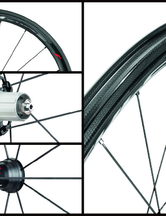 Totally new is the Fulcrum Racing Quattro Carbon with a 40mm deep rim
