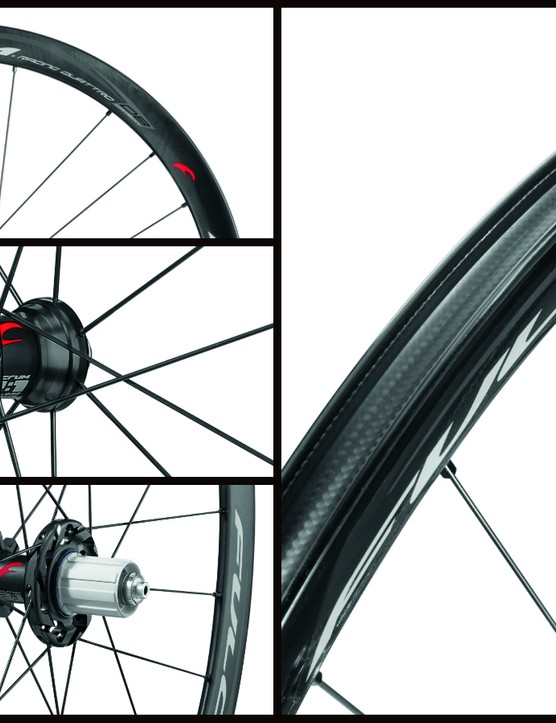 Sharing a similar rim design to the Quattro Carbon, the Fulcrum Racing Quattro Carbon Disc signals Fulcrum's entry in performance road disc wheels