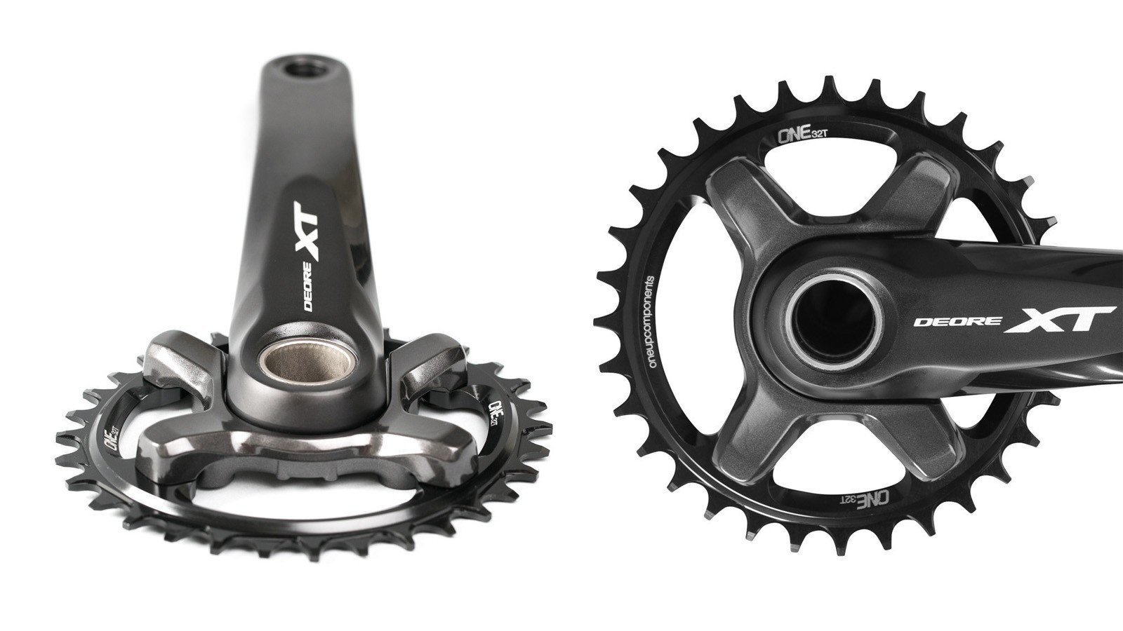 OneUp Components has added XT M8000-compatabile narrow/wide chainrings to its line-up