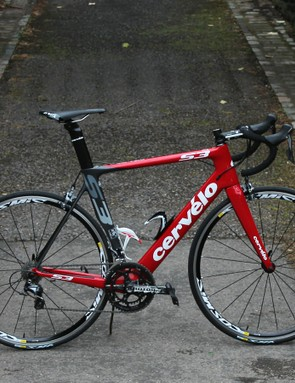 The Cervélo S3 was a good horse for the Monster course