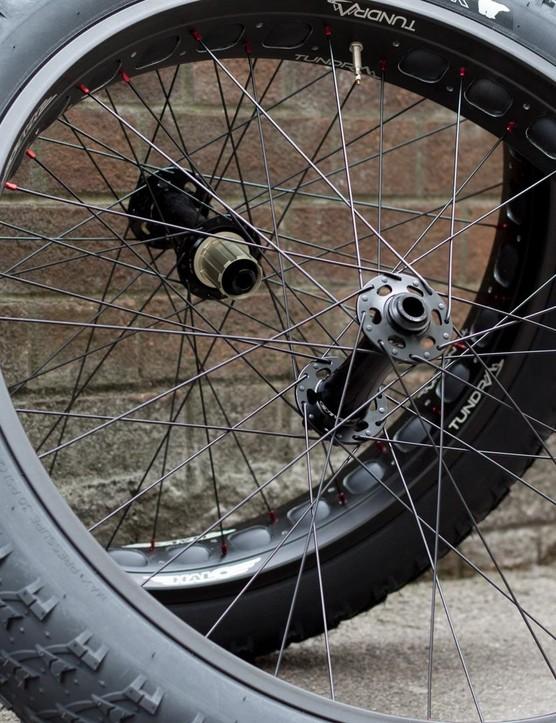 Halo Tundra wheelset