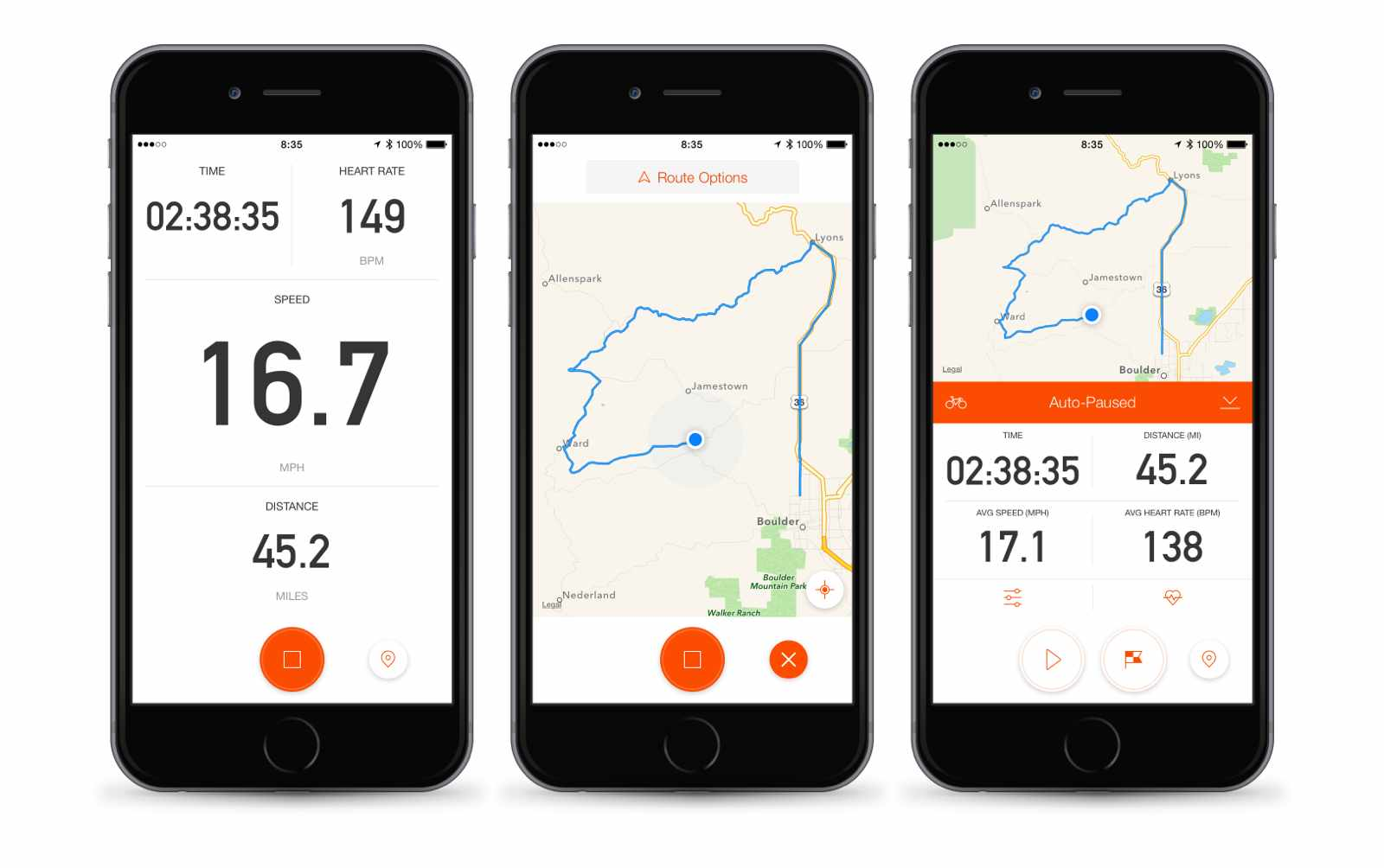 Strava's latest update turns a smartphone into a Strava cycling computer