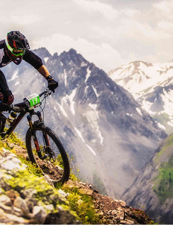 Enduro racing may drive the development of auto-dropping seatposts