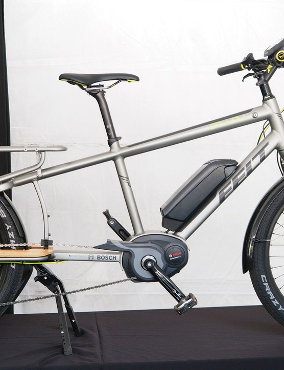 Felt is jumping into the cargo bike scene with the electrified Brühaul