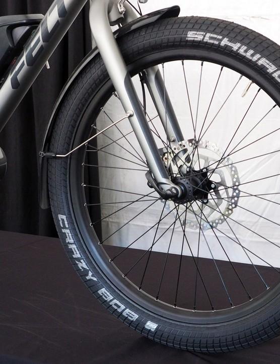 Felt has designed the Brühaul around 24in wheels