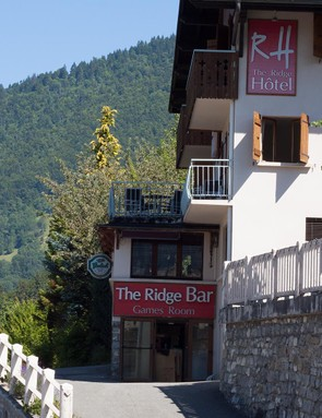 The Ridge Hotel in Morzine proved a pleasant place to stay with great food and helpful staff