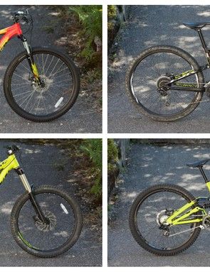 The rental bike options provided by Alpine Elements