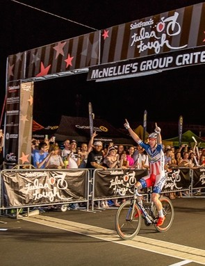 US amateur crit champ Dan H0lloway has been putting the Alto Velo wheels across the line first quite a bit this season