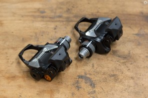 Installation for the P1s is identical to a regular set of pedals