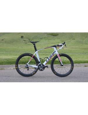 The Look 795 Aerolight built as shown weighs 7.47kg / 16.47lb in size L