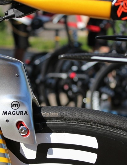 Magura's hydraulic rim brakes allow for tighter routing without sacrificing brake quality