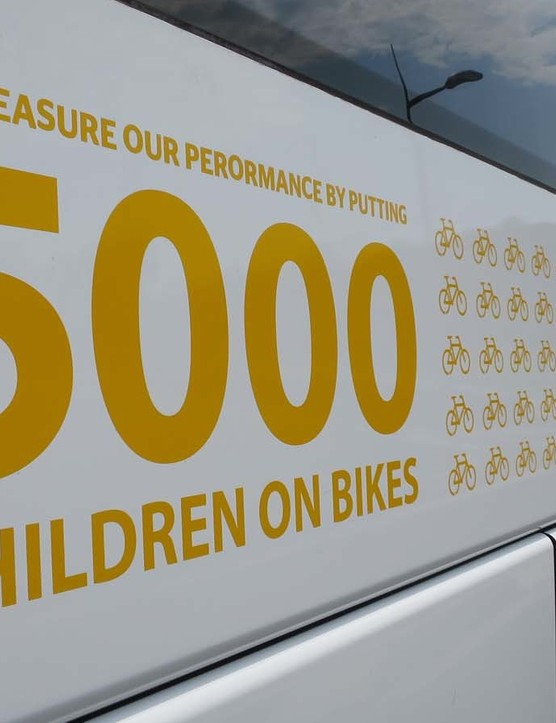 Team MTN Quebeka aim to fund 5000 World bicycle relief bikes for African children